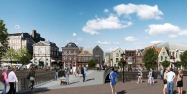 Leiden, Catharinasteeg; verhuur anchor-tenants voor ontwikkelaar.